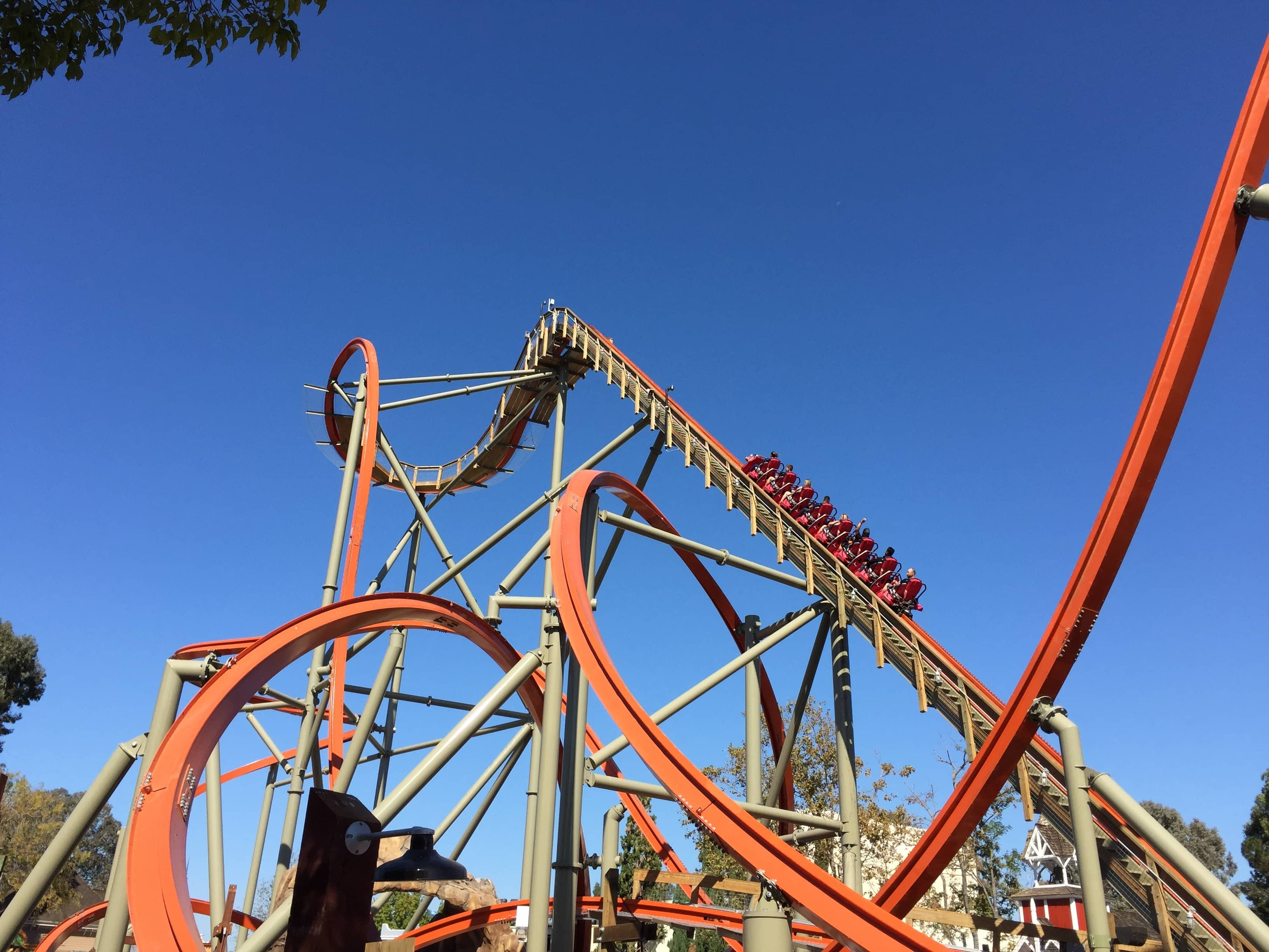 RailBlazer is a steel roller coaster located at Great America in Northern California