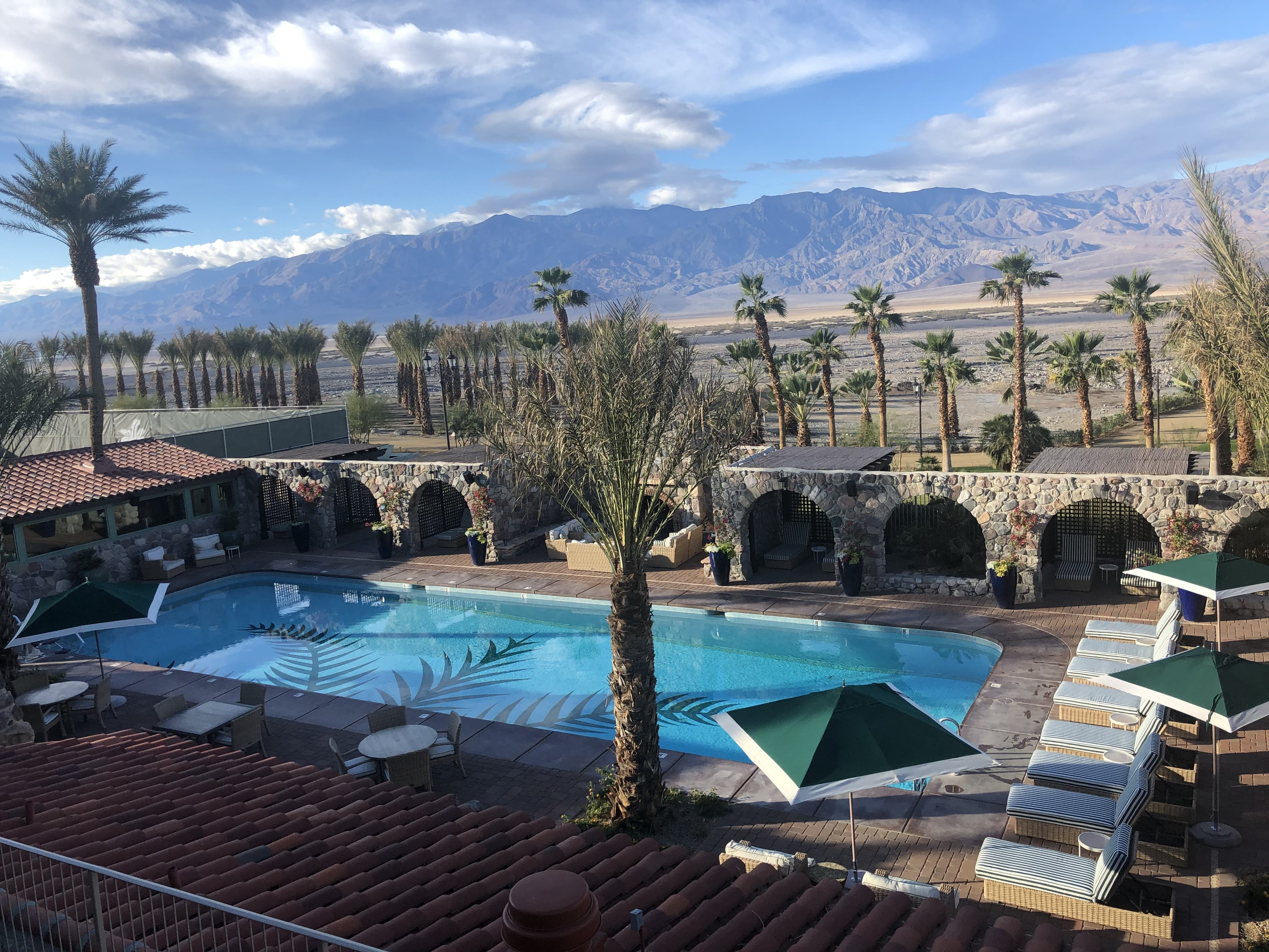 The Inn at Death Valley has a spring-fed swimming pool